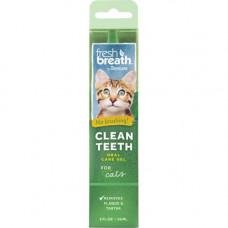 Гель для чистки зубов TropiClean Clean Teeth Gel для котов, 59 мл