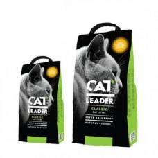 Наполнитель Cat Leader Wild Nature супер-впитывающий в кошачий туалет, 5кг