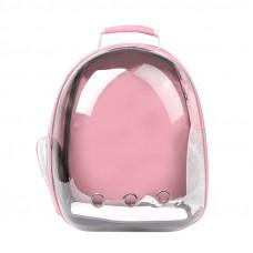 Рюкзак-переноска для кошек Taotaopets 253304 Panoramic 35x25x42cm Розовый