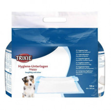 Пеленки впитывающие для щенков Trixie, 60×60 см, 50 шт