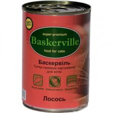 Влажный корм Baskerville для котов, лосось, 400 г
