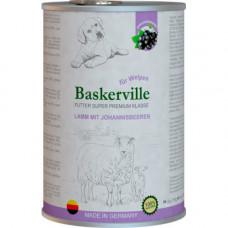 Влажный корм Baskerville Super Premium Lamm Mit Johannisbeeren для собак, ягненок и смородина, 400 г
