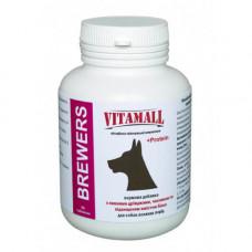 Кормовая добавка для крупных собак VitamAll с пивными дрожжами и чесноком 90 таблеток по 180гр
