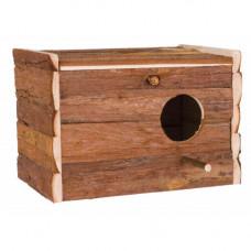 Домик Trixie Natura с жердочкой, для птиц, 30х20х20 см