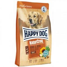 Сухой корм Happy Dog Adult NaturCroq Rind&Reis для взрослых собак, с говядиной и рисом, 15кг