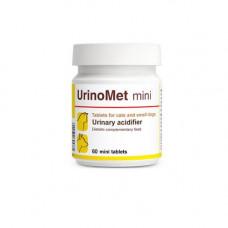 Витаминно-минеральная добавка Dolfos UrinoMet Min для лечения и профилактики МКБ у кошек 60 шт