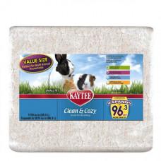 Подстилка Kaytee Clean&Cozy White для грызунов, целлюлоза, белая, 28.3л