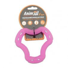 Игрушка AnimAll Fun кольцо 6 сторон 12 см Фиолетовый