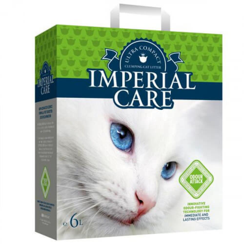 Наполнитель Imperial Care Odour Attack ультра-комкующийся, для кошек, с ароматом летнего сада, 10кг