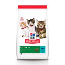 Сухой корм Hills Science Plan Kitten для котят с тунцом, 1.5кг