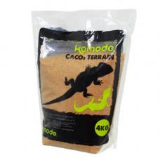 Пищевой песок для рептилий Komodo CaCo3 Sand Caramel, 4 кг