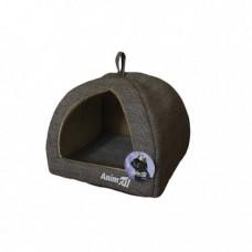 Домик, AnimAll Darling M, для собак, светло-серый, 41×41×32 см