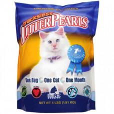 Наполнитель для кошек Litter Pearls TrackLess для туалетов, кварцевый 3.63кг