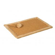 Когтеточка-коврик для кошки Мур-Мяу Бежевая