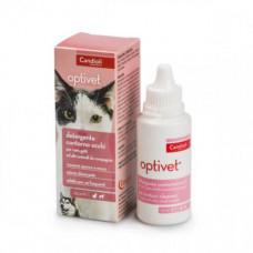 Лосьон Candioli Optivet для ухода за глазами котов и собак, 50мл