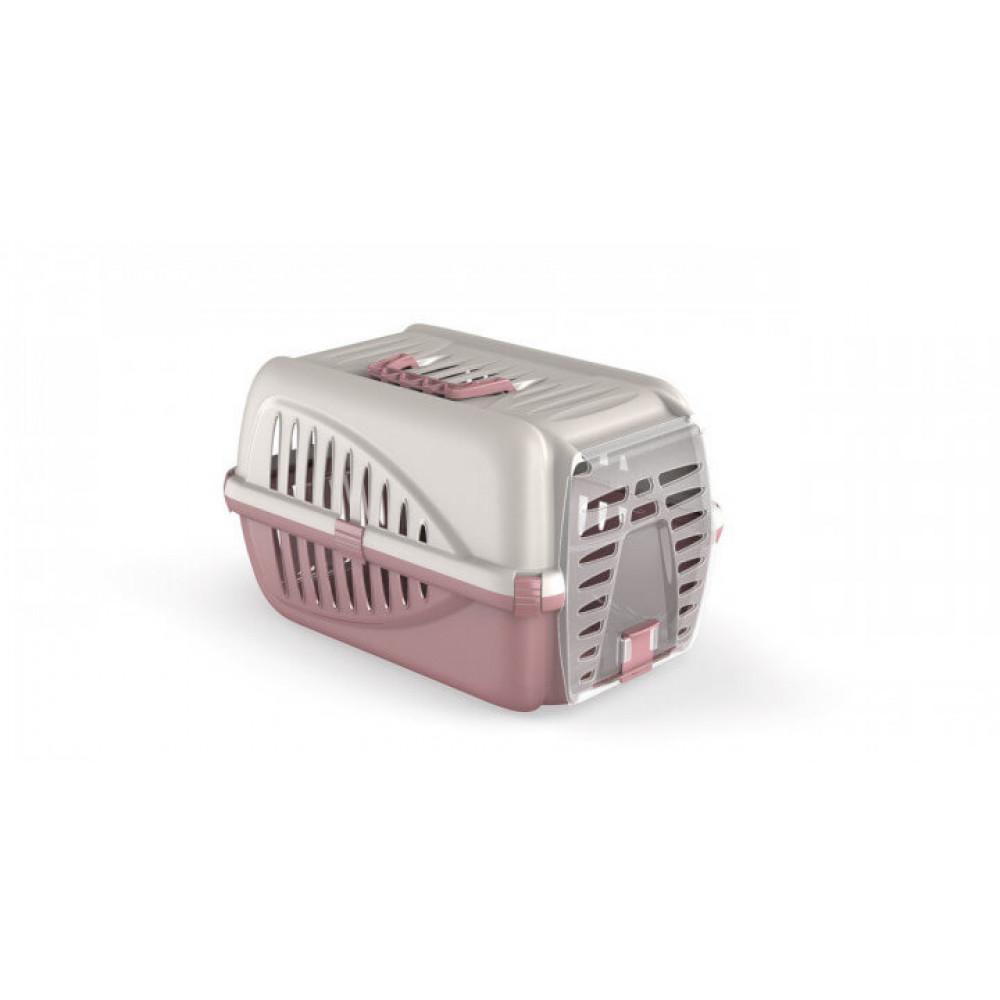 Переноска для домашних животных собак Panzer Бежевый Розовый