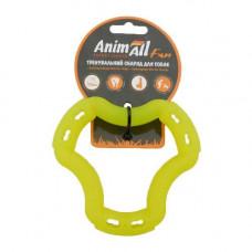 Игрушка AnimAll Fun кольцо 6 сторон 12 см Желтое