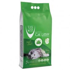 Бентонитовый наполнитель Van Cat с ароматом Алоэ Вера, 5 кг