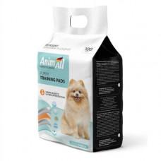 Пеленки AnimAll Puppy Training Pads для собак и щенков, 60 х 60 см, 100 штук
