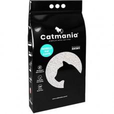 Бентонитовый наполнитель Catmania для кошек с запахом марсельского мыла, бирюзовые гранулы, 10 л