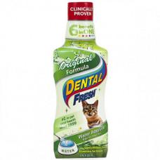Жидкость SynergyLabs Dental Fresh Cat от зубного налета и запаха из ротовой полости у кошек, 237 мл