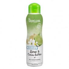 Кондиционер TropiClean Lime & Cocoa для увлажненной кожи и снижение линьки для собак и котов, 355мл