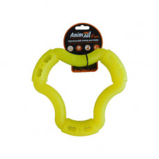 Игрушка AnimAll Fun кольцо 6 сторон 20 см Желтое