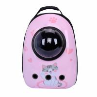Рюкзак-переноска для кошек Taotaopets Window Pink Cat