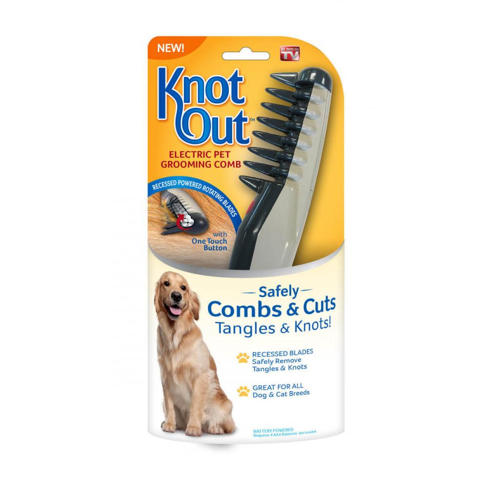 Электрическая расческа для вычесывания собак Knot Out