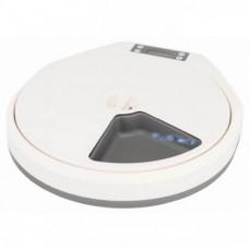 Кормушка-автомат Trixie TX5 для кошек, белая/серая, 5x240мл, 33х5х36см