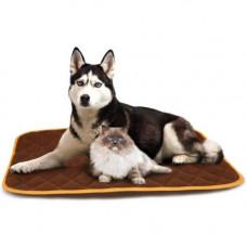 Согревающий коврик Croci Thermo для кошек и собак Коричневый 110×72 см