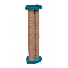 Когтеточка (дряпка) Мур-Мяу угловая внутренняя Бежевая
