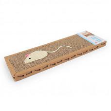 Когтеточка (дряпка) для кота Прямая Taotaopets 042222 37x12x2см