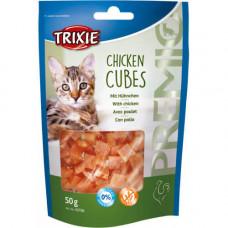 Лакомство Trixie кубики с курицей, для кошек, 50гр