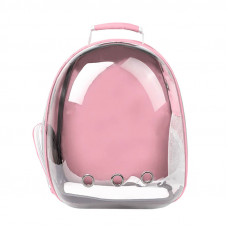 Рюкзак-переноска для кошек Taotaopets 253304 Panoramic 35x25x42см Pink