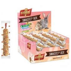 Колба Vitapol Smakers Box для попугаев, со вкусом клубники, упаковка 12 шт