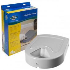 Кормушка PetSafe Eatwell 5 Meal Pet Feeder автоматическая, для кошек и собак, с таймером, 39.37х31.24х8.64 см