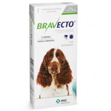 Жевательная таблетка Bravecto от блох и клещей для собак крупных пород от 10 до 20 кг, 500 мг