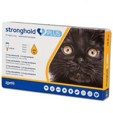 Капли Zoetis Stronghold Plus 15 мг/2,5 мг против паразитов у кошек весом до 2.5 кг, 0.25 мл