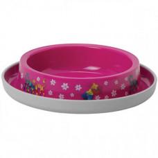 Миска Moderna Trendy Dinner Friends Forever для кошек, 210мл, d15см, ярко-розовая