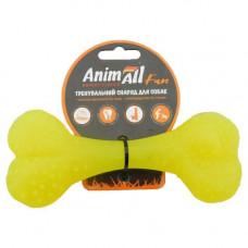 Игрушка AnimAll Fun кость 15 см Желтая