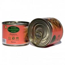 Влажный корм Baskerville для котов, лосось, 200 г