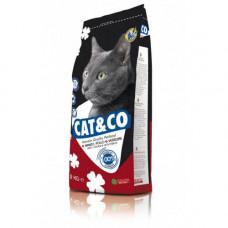 Сухой корм Adragna Cat & Co, для котов всех возрастов с курицей и индейкой, 20кг