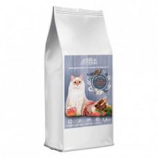 Сухой корм Home Food для взрослых кошек с чувствительным пищеварением, ягненок с лососем, 1.6кг