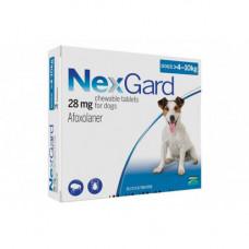 Таблетки Boehringer Ingelheim NexGard от блох и клещей для собак M 4-10кг