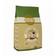 Сухой корм Araton Junior With Lamb & Rice для собак весом от 2 до 60 кг, 15кг