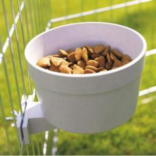 Кормушка Savic Crock с креплением в клетку, для собак, котов, птиц, кроликов, пластик, 1.2л