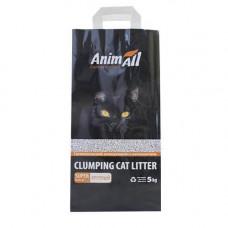 Бентонитовый Наполнитель туалетов для кошек AnimAll крупная фракция 5 кг