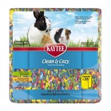 Подстилка Kaytee Clean&Cozy Birthday Cake для грызунов, целлюлоза, разноцветная, 4.1л