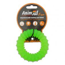 Игрушка AnimAll Fun кольцо с шипами 9 см Зеленый